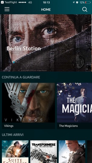 Timvision su app store for Timvision app smart tv
