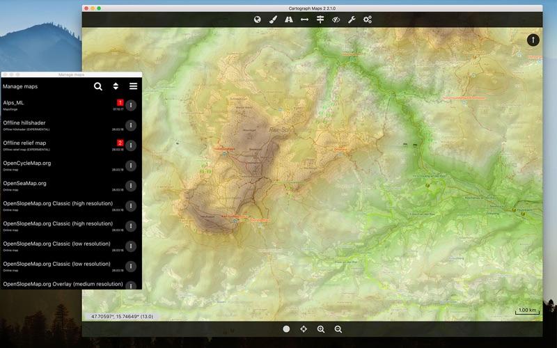 Cartograph Maps 2 скриншот программы 2