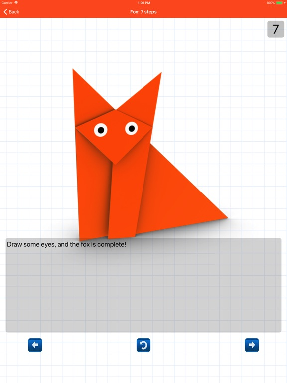 Animated 3D Origami Screenshots