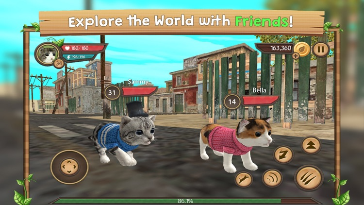 Cat Sim Online: Play With Cats screenshot-3