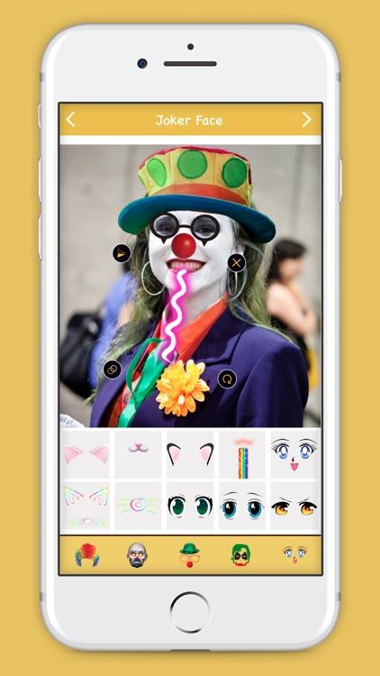 Joker Face Editor screenshot-4