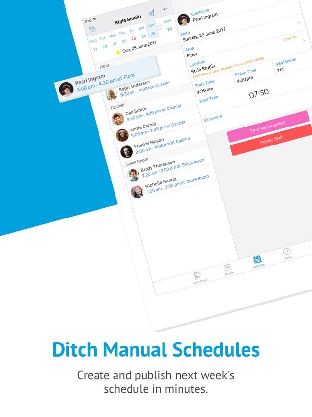 deputy 1 schedule app をapp storeで