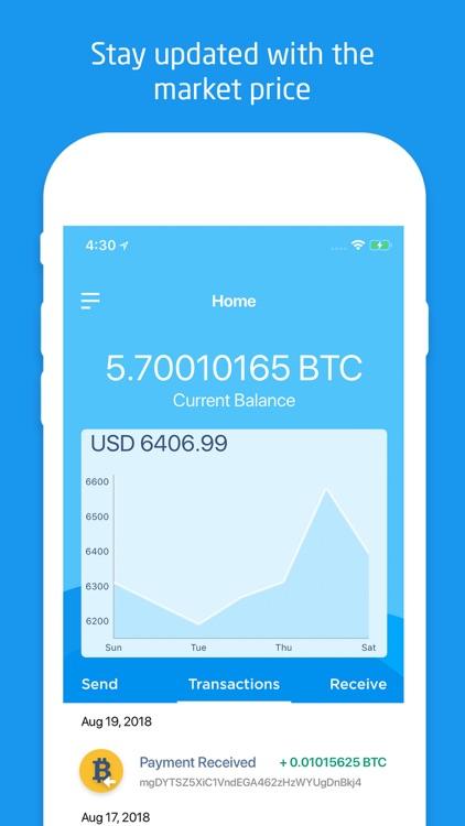 SingleCoin - Bitcoin Wallet