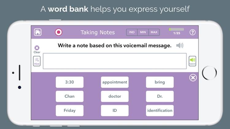 Advanced Writing Therapy screenshot-8