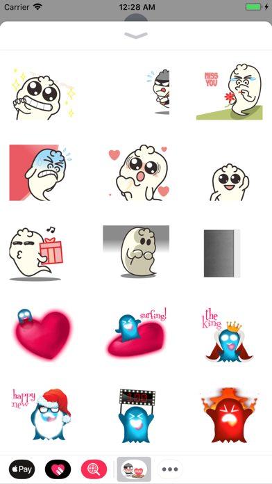 Ghost Kid Stickers Animated screenshot two