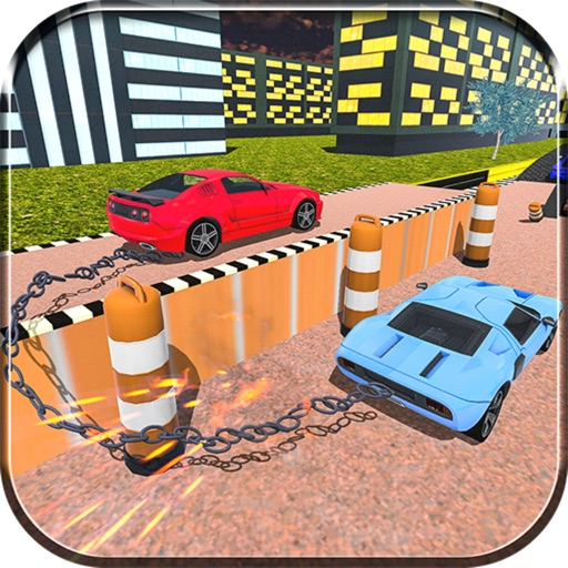 Chained Cars: Thrilling Drive