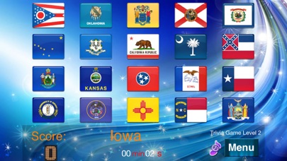 Master USA State flags screenshot two