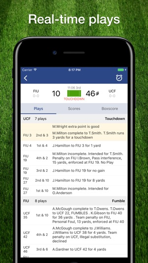 Fbs College Football Schedule On The App Store
