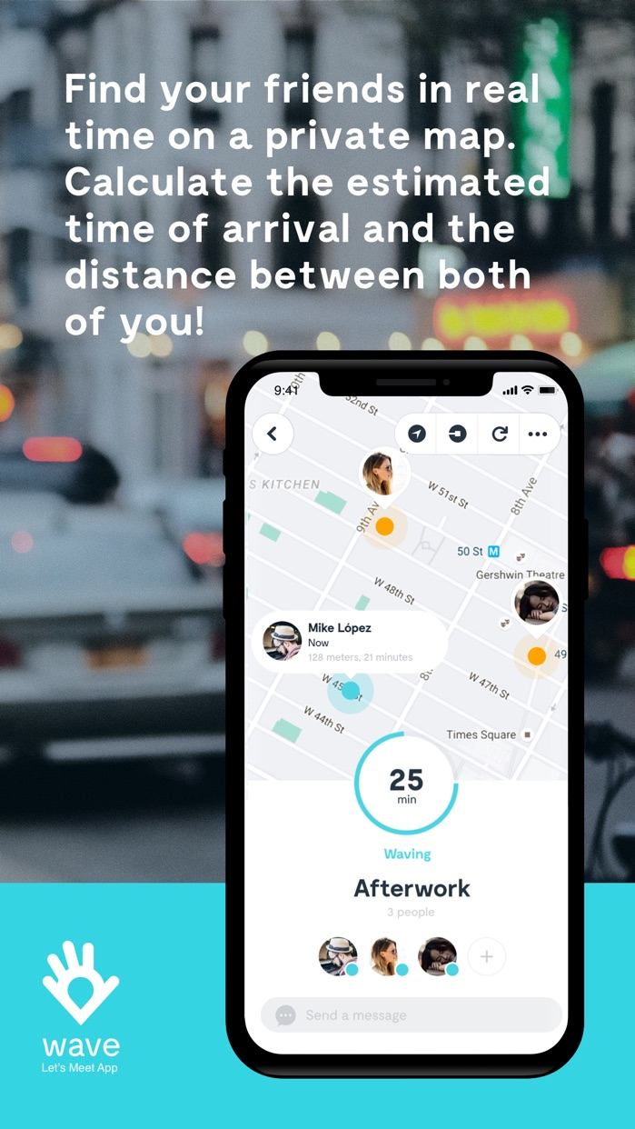 Wave Let's Meet App Screenshot