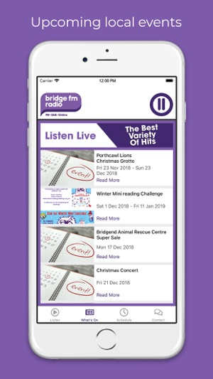 Bridge FM Radio on the App Store