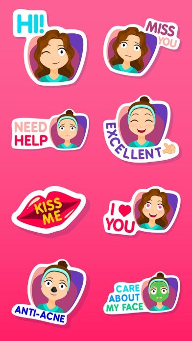 Fiona the Sassy Girl Stickers screenshot one