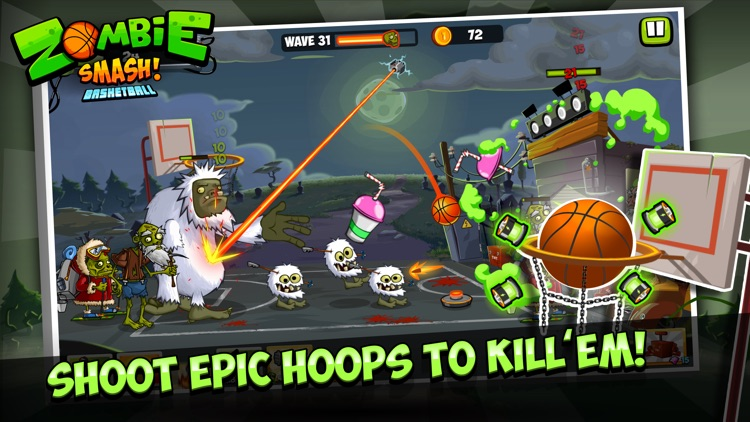 Zombie Smash! Basketball screenshot-4