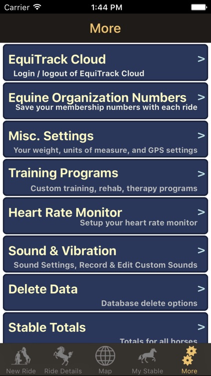 EquiTrack - Equine Training screenshot-3