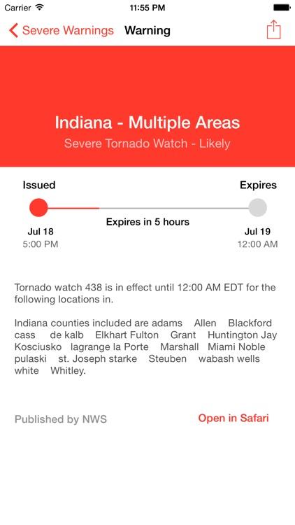 My Hurricane Tracker & Alerts