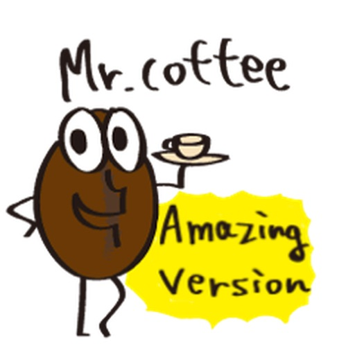 Mr. Coffee Sticker icon