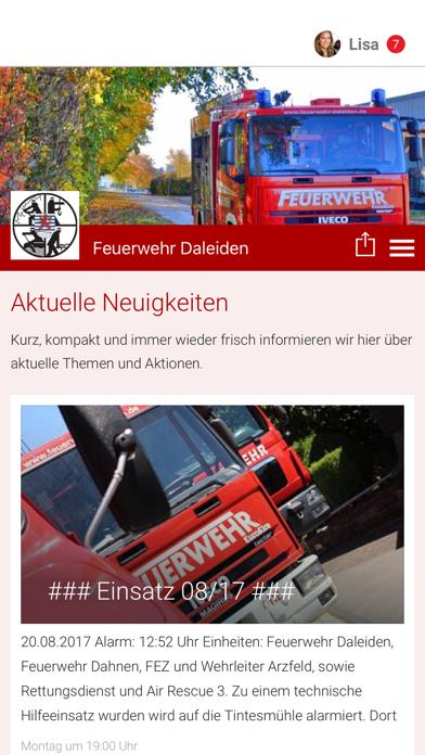 Feuerwehr Daleiden screenshot 1