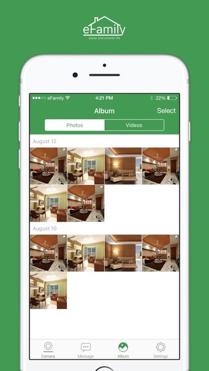 eFamily Home Security Camera screenshot-3