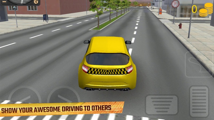 Real Taxi Driver: City Cab