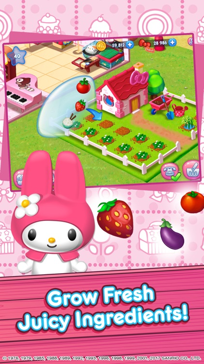 Hello Kitty Food Town screenshot-1