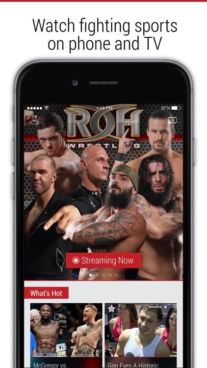 FITE - MMA, Wrestling, Boxing screenshot-0