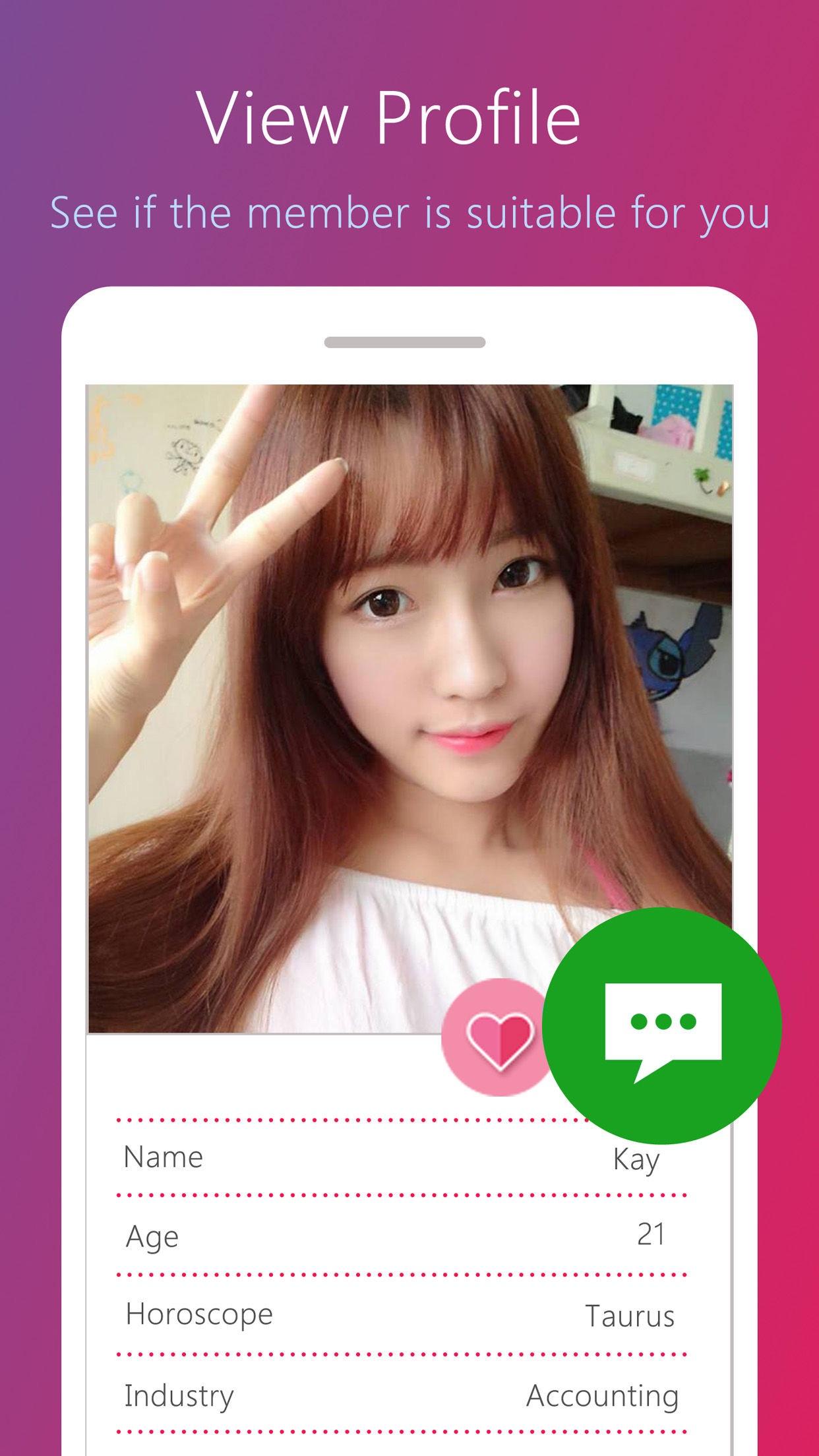 2Date Dating App Screenshot