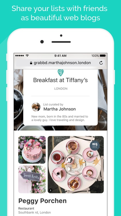 Grabbd- Social Foodie & Travel screenshot-4