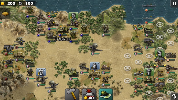 Glory of Generals screenshot-4