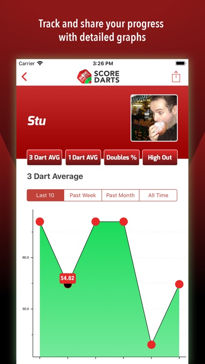 Score Darts Scorer Lite screenshot-2