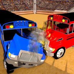 School Bus Derby Crash Racing