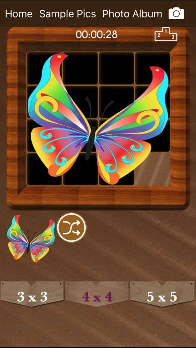 Sliding Puzzle : Tile Puzzles screenshot 3