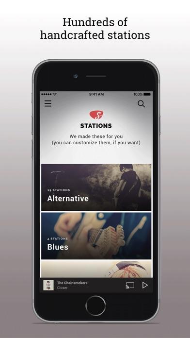Slacker Radio Screenshot