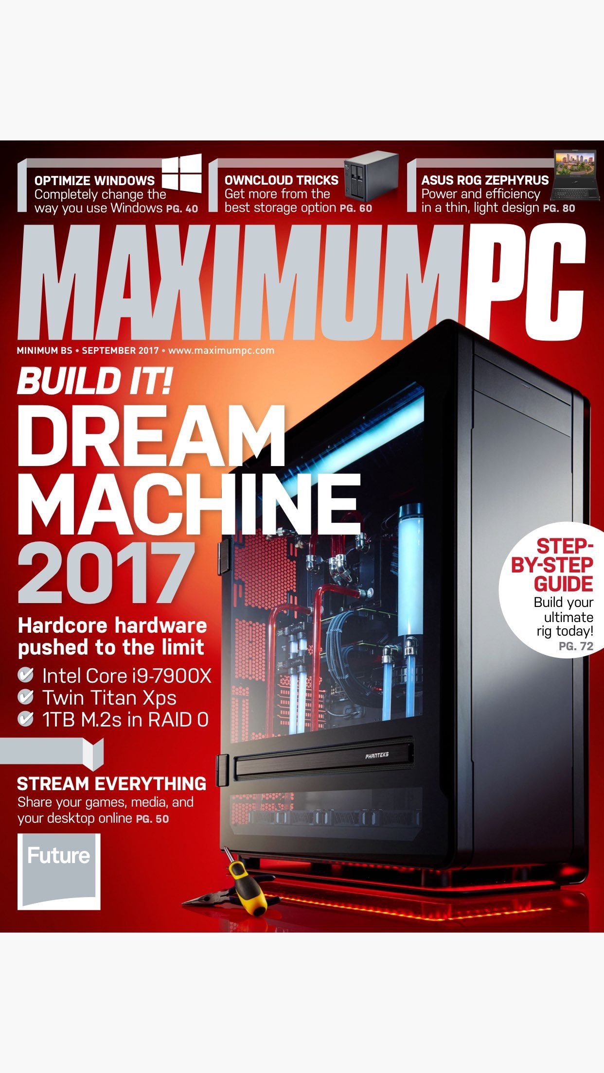 Maximum PC: computer news, reviews and projects Screenshot