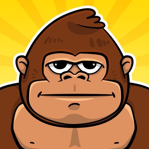 Король Обезьян Игры с Бананами