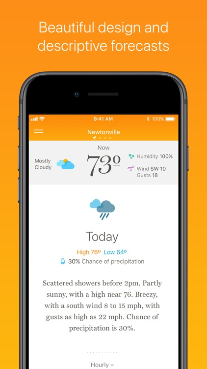 Weather Simple – NWS Forecasts screenshot-0