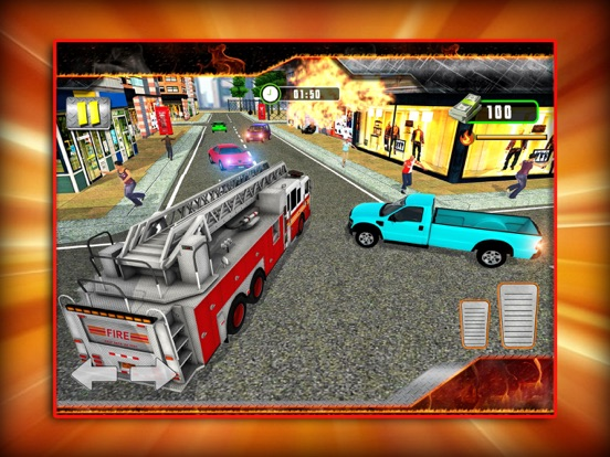 City Firefighting Rescue 3D screenshot #3