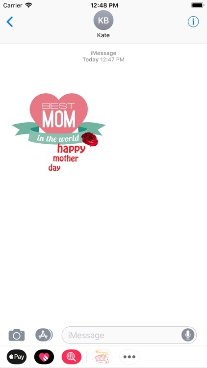 Happy Mothers Day Stickers screenshot-3