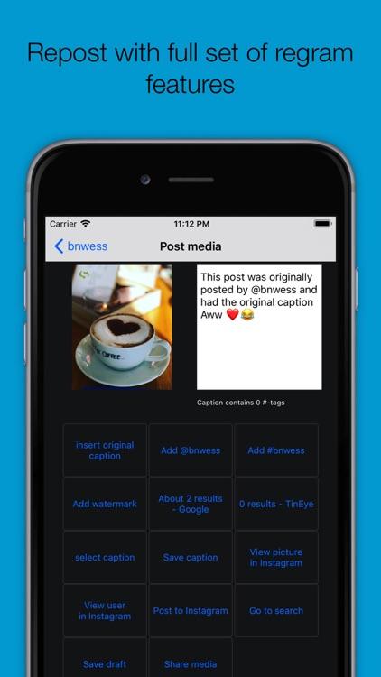 Picstagrab - Repost & Regram screenshot-4