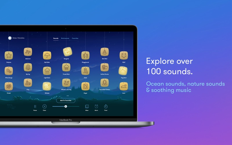 Relax Melodies Premium Screenshots