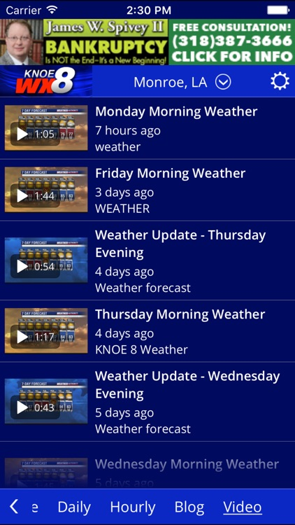 KNOE 8 WX screenshot-1