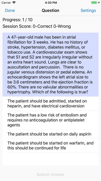 Cardiology Board Reviews screenshot-5