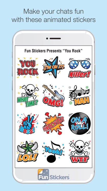 You Rock iSticker