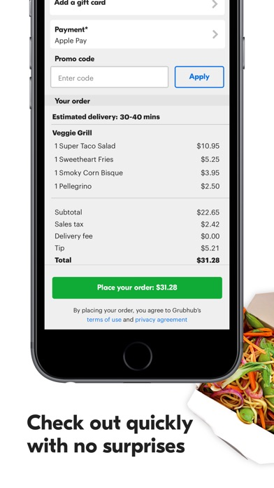 Grubhub: Local Food Delivery for Windows