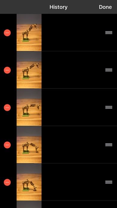 Onion Cam2 - StopMotion camera Screenshot on iOS