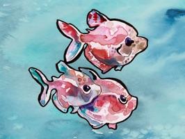 Watercolors by Jen Tracy