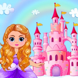 Doll Dressup Castle Decoration