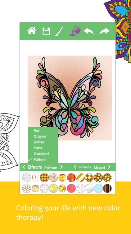 Color Therapy - Coloring Book screenshot-0