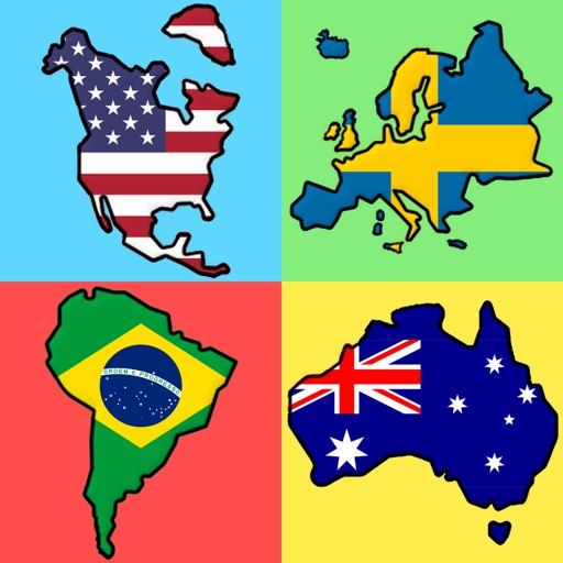 Flags of All World Continents