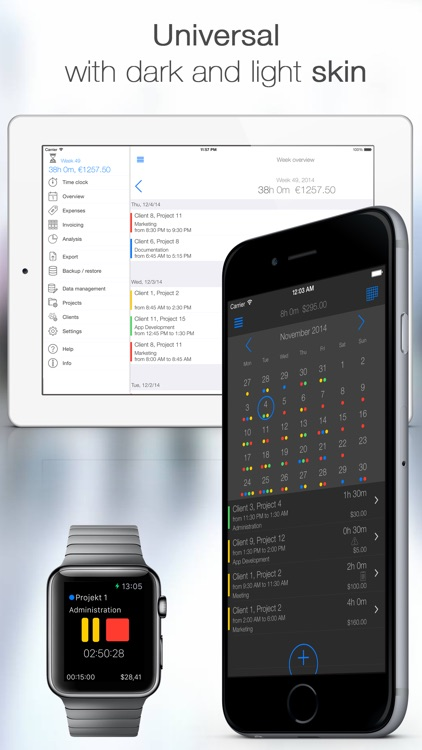 TimeTrack Pro - Time tracker screenshot-3