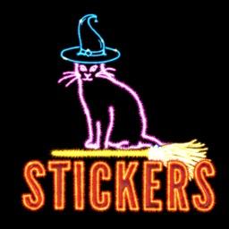 Halloween Sparkler stickers