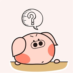 Laughing Pig Animated Stickers